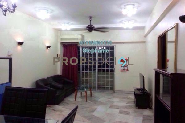 For Rent Condominium at La Villas Condominium, Setapak Freehold Fully Furnished 3R/2B 1.5k