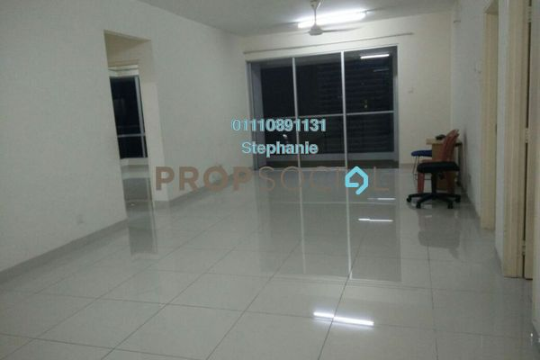 For Rent Condominium at Platinum Hill PV2, Setapak Freehold Semi Furnished 4R/2B 1.8k