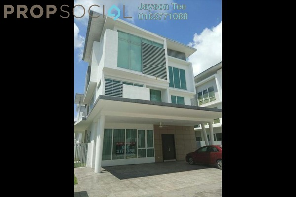 For Rent Bungalow at Garden Residence, Cyberjaya Freehold Semi Furnished 7R/6B 7k