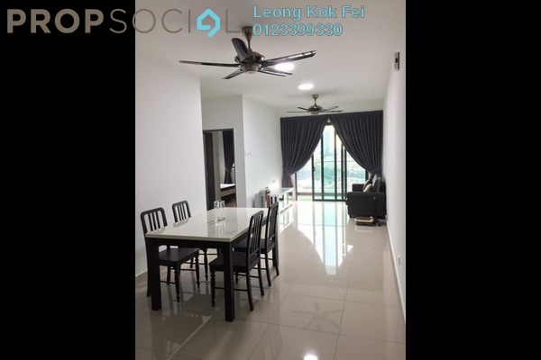 For Rent Condominium at KL Palace Court, Kuchai Lama Leasehold Fully Furnished 2R/2B 1.75k