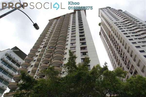 For Sale Condominium at Mutiara Villa, Bukit Ceylon Freehold Fully Furnished 2R/2B 688k