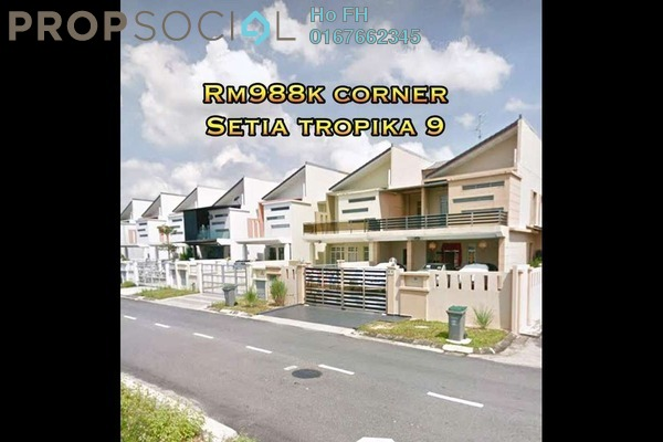For Sale Terrace at Areca, Setia Tropika Freehold Unfurnished 4R/5B 988k