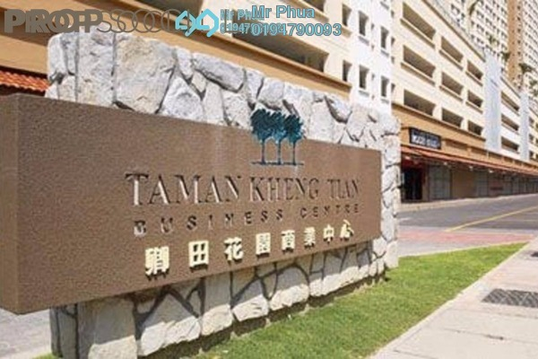 For Sale Apartment at Taman Kheng Tian, Jelutong Freehold Unfurnished 3R/2B 335k