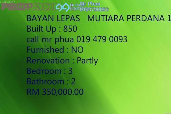 For Sale Condominium at Jade View, Bukit Gambier Freehold Fully Furnished 3R/2B 299k
