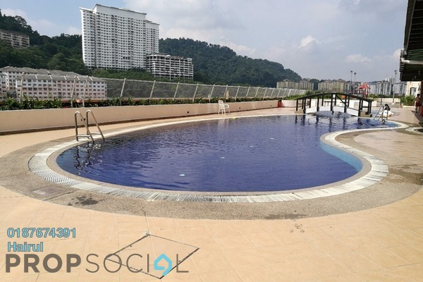 For Rent Apartment at Glen View Villa, Cheras Leasehold Semi Furnished 3R/2B 1.2k