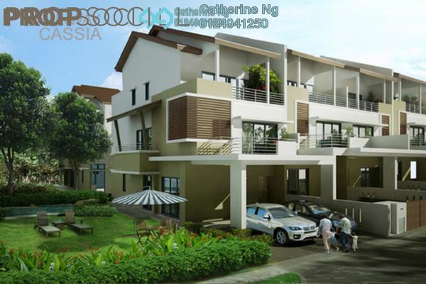 For Sale Terrace at Sunway Cassia, Batu Maung Freehold Unfurnished 5R/5B 1.18m