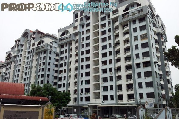 For Sale Apartment at Desa Permai Indah, Sungai Dua Leasehold Fully Furnished 3R/2B 400k