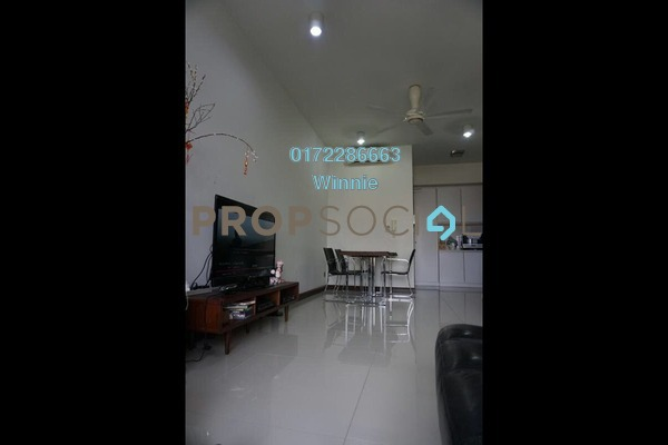 For Sale Condominium at The Northshore Gardens, Desa ParkCity Freehold Semi Furnished 2R/1B 820k