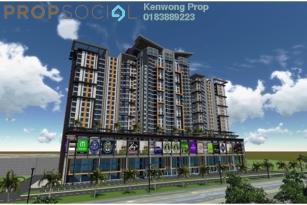 For Rent Condominium at Silk Residence, Bandar Tun Hussein Onn Freehold Unfurnished 3R/2B 1.1k