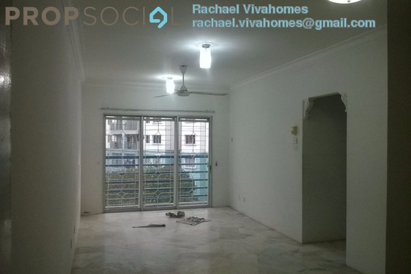 For Sale Apartment at Akasia Apartment, Pusat Bandar Puchong Freehold Fully Furnished 3R/2B 388k