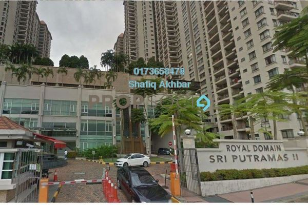 For Sale Condominium at Sri Putramas II, Dutamas Freehold Fully Furnished 3R/2B 525k