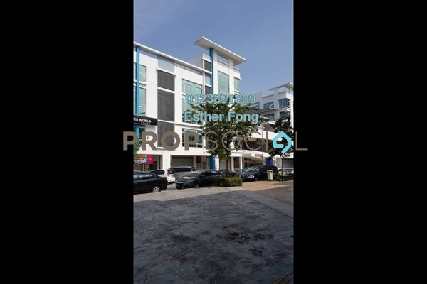For Rent Office at The Atmosphere, Bandar Putra Permai Leasehold Semi Furnished 0R/2B 2k