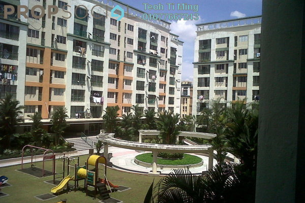 For Sale Condominium at Plaza 393, Cheras Leasehold Semi Furnished 2R/1B 370k