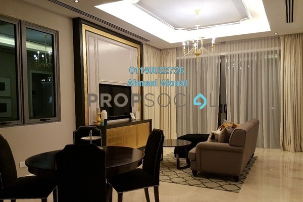 For Sale Condominium at The Manor, KLCC Freehold Semi Furnished 2R/2B 1.58m