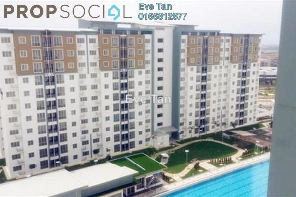 For Sale Apartment at Seri Baiduri, Setia Alam Freehold Unfurnished 3R/2B 280k