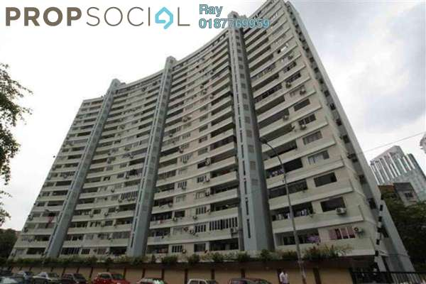 For Rent Condominium at Crescent Court, Brickfields Freehold Fully Furnished 4R/3B 2.5k