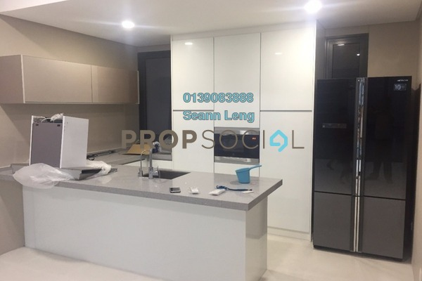 For Rent Condominium at The Capers, Sentul Freehold Semi Furnished 3R/2B 3k