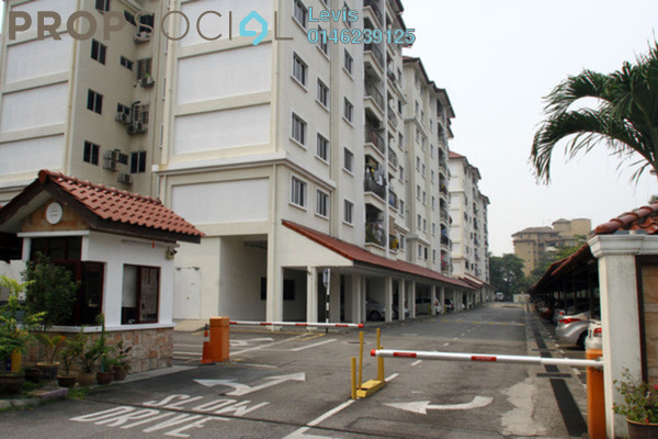 For Rent Condominium at Gembira Park, Kuchai Lama Freehold Fully Furnished 3R/2B 1.8k