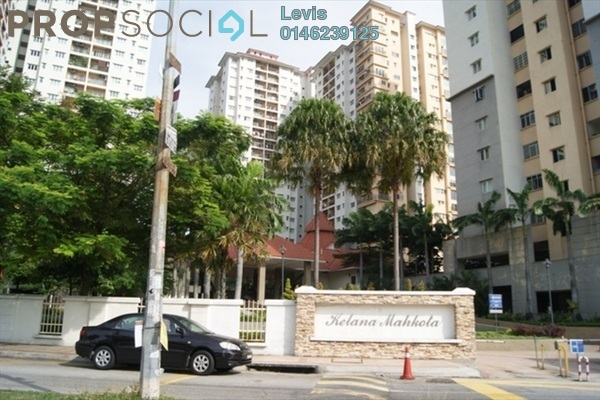 For Sale Condominium at Kelana Mahkota, Kelana Jaya Leasehold Semi Furnished 3R/2B 640k