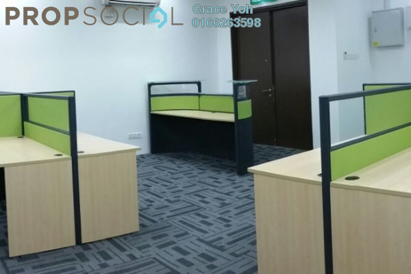 For Rent Office at The Vertical, Bangsar South Leasehold Fully Furnished 0R/0B 4.9k