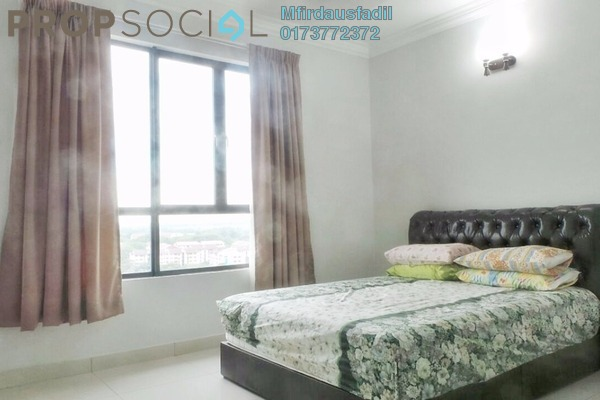 For Rent Condominium at Pinang Heights, Shah Alam Freehold Semi Furnished 4R/2B 2k