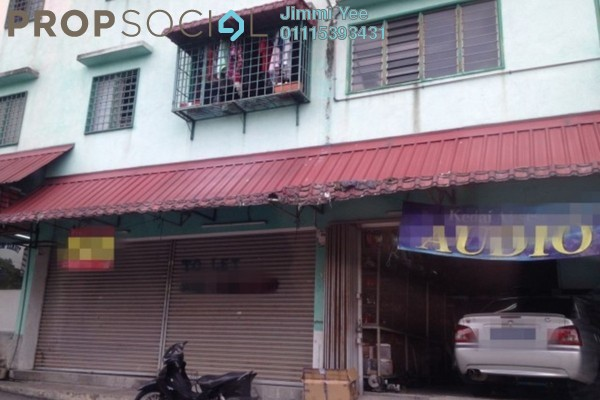 For Rent Shop at Taman Bukit Segar, Cheras Freehold Unfurnished 0R/1B 1.4k
