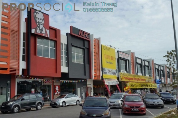 For Rent Shop at Bandar Puncak Alam, Kuala Selangor Leasehold Unfurnished 0R/1B 6k