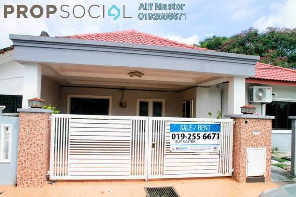 For Sale Terrace at Banyan Close, Bandar Bukit Mahkota Freehold Semi Furnished 3R/3B 565k