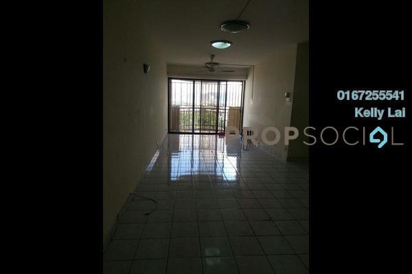 For Rent Condominium at Villa Angsana, Jalan Ipoh Freehold Semi Furnished 3R/2B 1.5k