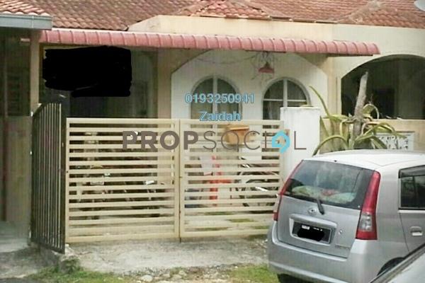 For Sale Terrace at Bandar Puncak Alam, Kuala Selangor Leasehold Semi Furnished 4R/2B 295k