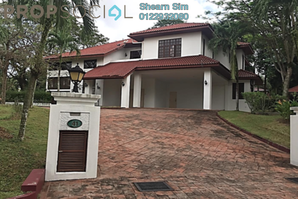 For Rent Bungalow at The Beverly Row, Putrajaya Freehold Semi Furnished 6R/6B 10.5k