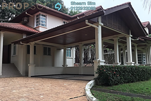 For Rent Bungalow at The Beverly Row, Putrajaya Freehold Semi Furnished 6R/6B 9k