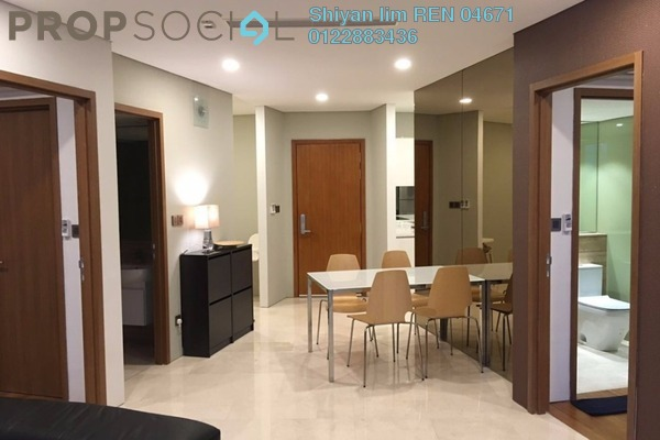 For Rent Condominium at Vortex Suites & Residences, KLCC Freehold Fully Furnished 3R/2B 3.6k