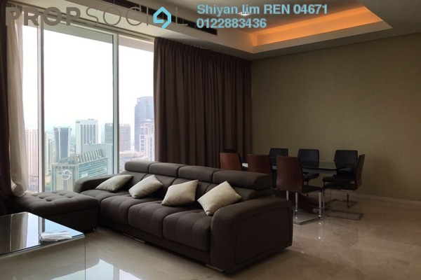For Rent Condominium at Vipod Suites, KLCC Freehold Fully Furnished 3R/2B 9k
