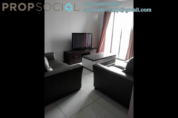 For Rent Apartment at Kristal View, Shah Alam Leasehold Fully Furnished 3R/2B 2.2k