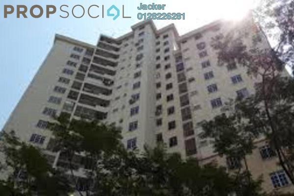 For Rent Condominium at Zamrud Apartment, Old Klang Road Leasehold Semi Furnished 3R/2B 1.2k