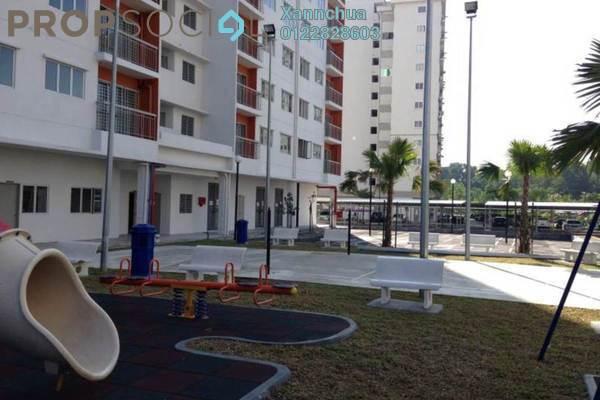 For Sale Apartment at Cahaya Permai, Bandar Putra Permai Leasehold Semi Furnished 3R/2B 320k