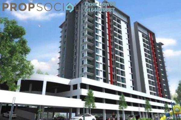 For Sale Condominium at Taman Bagan Ajam, Butterworth Freehold Unfurnished 4R/2B 500k