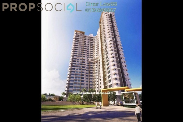 For Sale Condominium at The Signature, Seberang Perai Freehold Unfurnished 3R/2B 460k