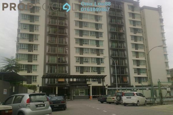 For Sale Condominium at Kelisa Heights, Seberang Jaya Freehold Fully Furnished 3R/2B 380k