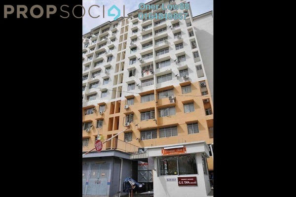 For Sale Condominium at Ria Apartment, Butterworth Freehold Unfurnished 3R/2B 210k
