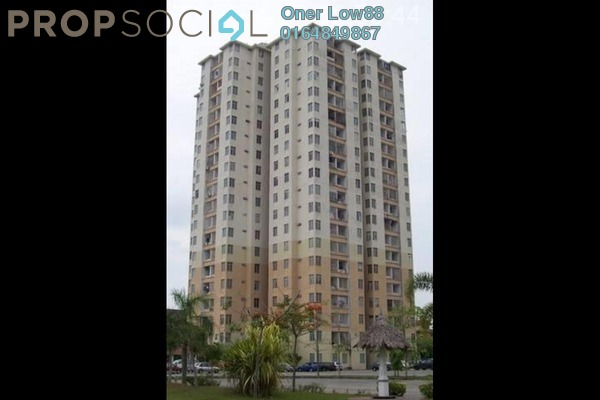For Rent Condominium at Taman Pelangi Flat, Juru Leasehold Unfurnished 2R/1B 570translationmissing:en.pricing.unit