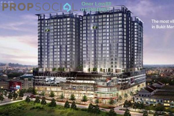For Rent Condominium at BM City Mall, Bukit Mertajam Freehold Unfurnished 2R/2B 1.3k
