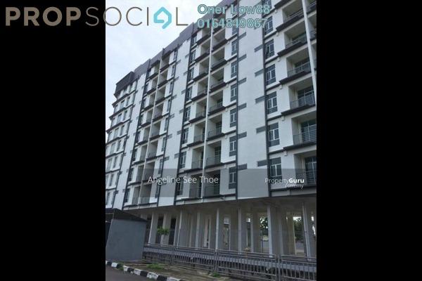For Sale Condominium at Taman Mak Mandin Jaya, Butterworth Freehold Semi Furnished 4R/2B 500k