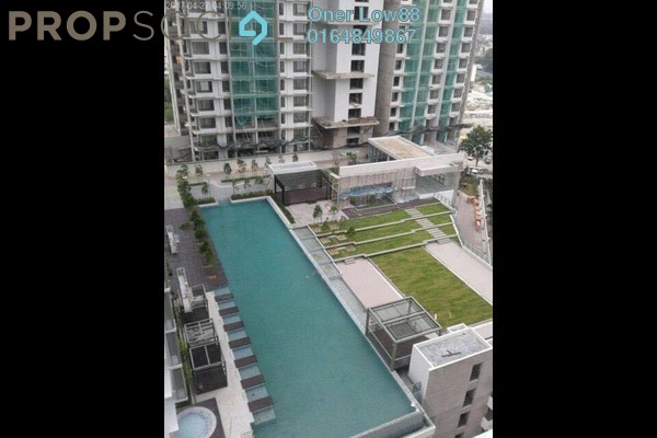 For Rent Condominium at Wellesley Residences, Butterworth Freehold Semi Furnished 1R/1B 1.1k