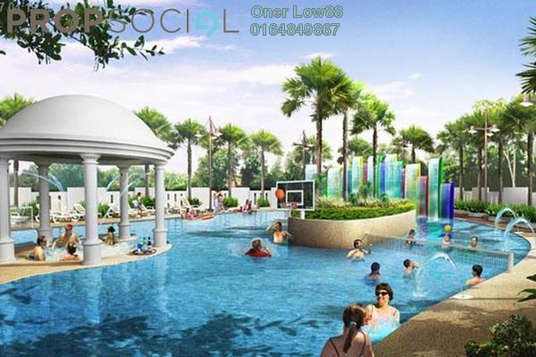 For Rent Condominium at Pinang Laguna, Seberang Jaya Freehold Semi Furnished 3R/2B 1k