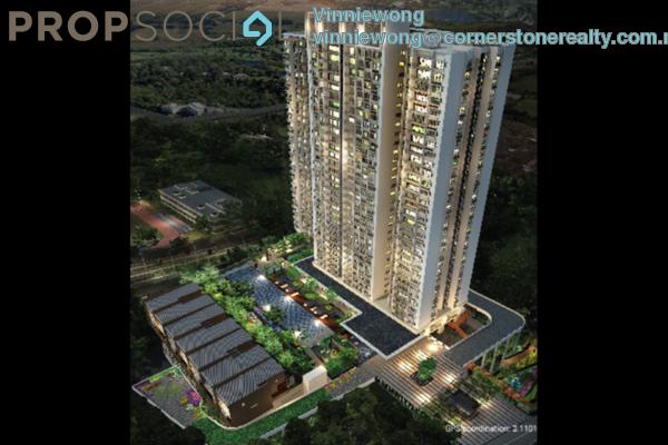 For Sale Condominium at GenKL, Kuchai Lama Freehold Semi Furnished 3R/2B 890k