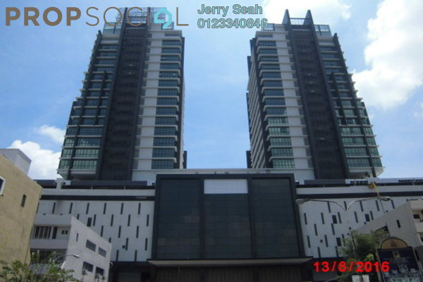 For Rent SoHo/Studio at Atria, Damansara Jaya Freehold Semi Furnished 1R/0B 1.3k