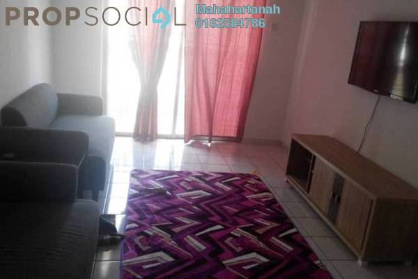 For Rent Apartment at Sri Lavender Apartment, Kajang Freehold Fully Furnished 3R/2B 1.25k