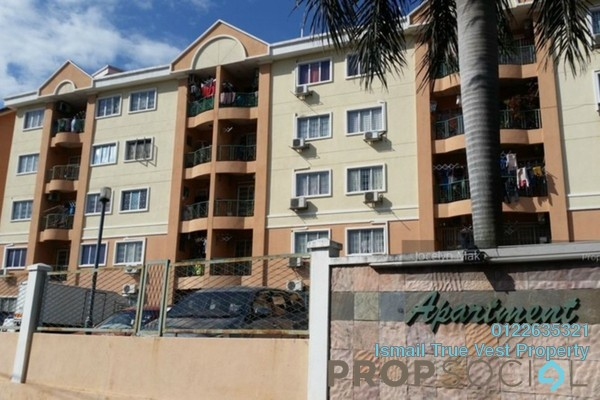 For Sale Apartment at Desa Ria Apartment, Balakong Freehold Semi Furnished 3R/2B 310k